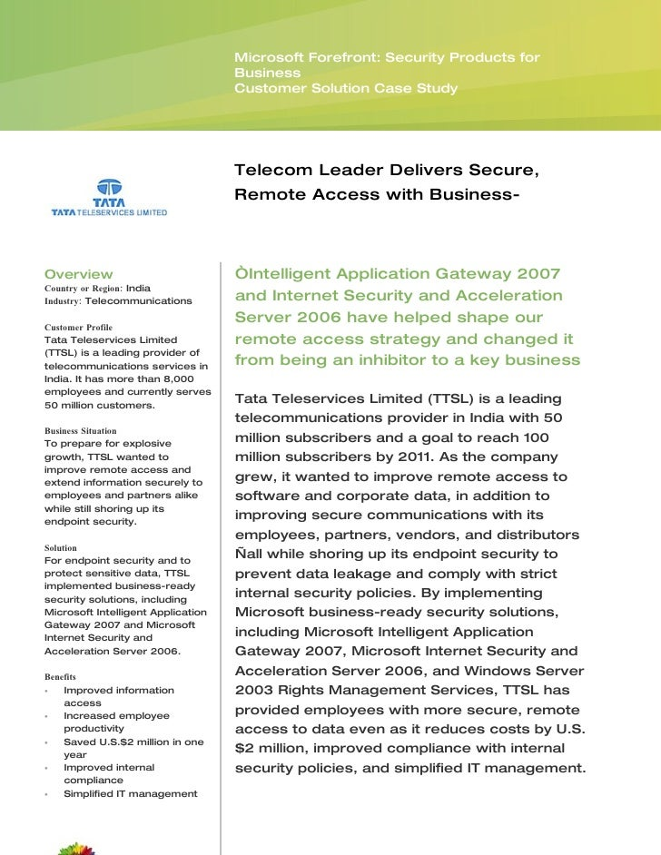 Microsoft Forefront: Security Products for                                     Business                                   ...