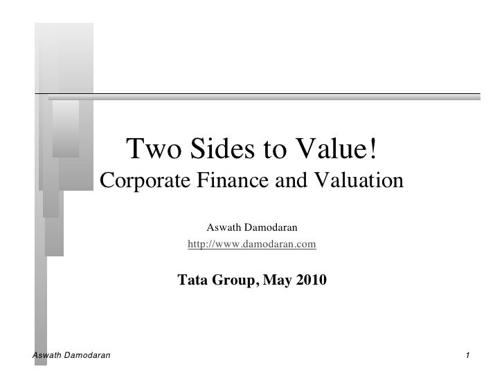 Two Sides to Value!