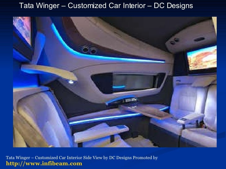 Car Interior By Dilip Chhabria DC Designs Promoted Infibeam 5