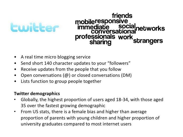 <ul><li>A real time micro blogging service