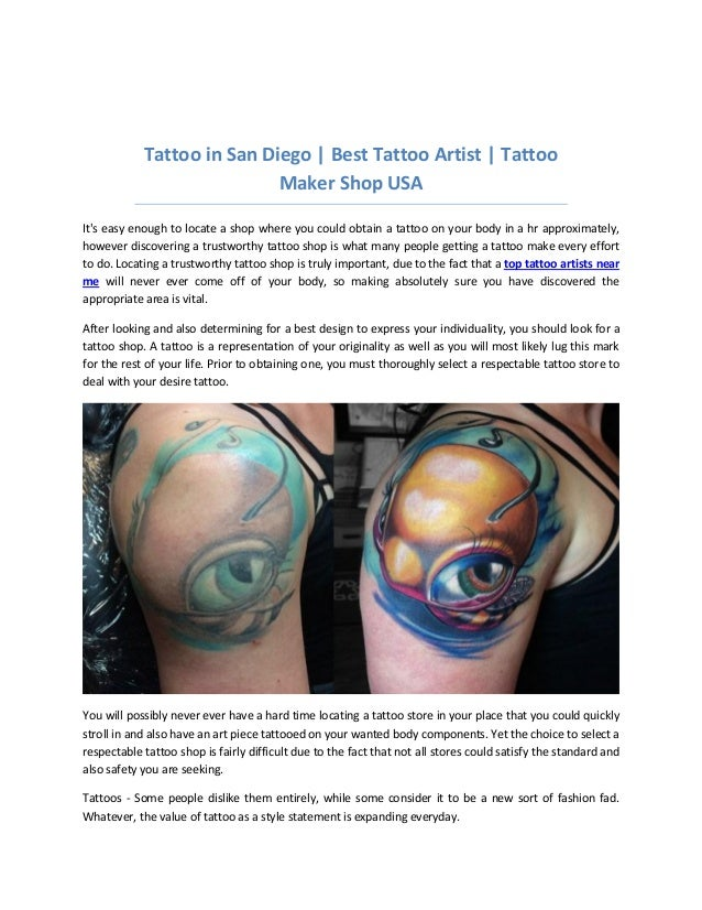 Tattoo artist/ oil painter | Professional Private Studio located in N…