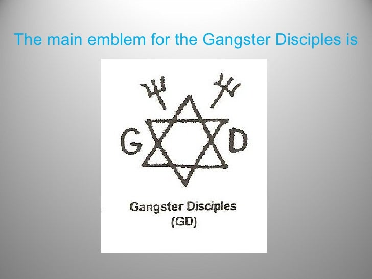 Tattoos and tagging plain for Gangster disciple tattoos