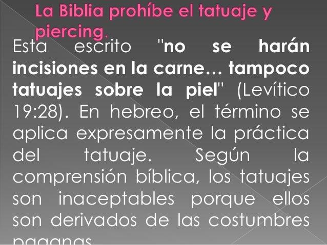Resultado de imagen para tatuajes prohibidos en la biblia