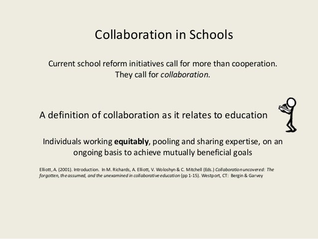 Collaborative Teaching Definition ~ Talking about collaboration cogenerative dialoguing and