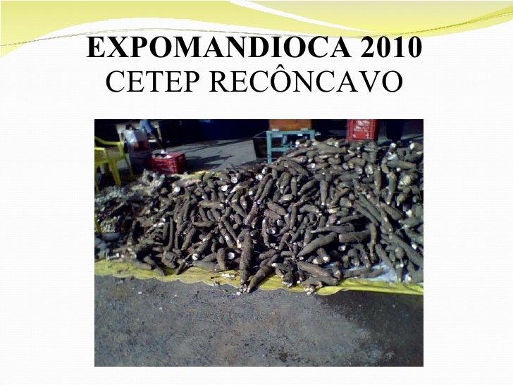 EXPOMANDIOCA 2010 CETEP RECÔNCAVO