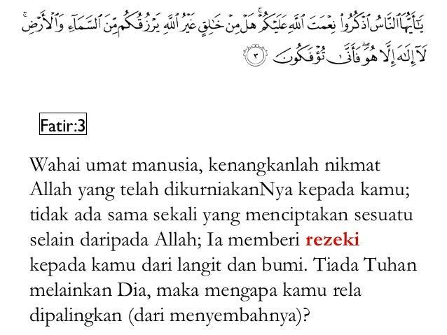 an-Naml:61Atau siapakah yang telah menjadikan bumi tempatpenetapan dan telah menjadikan sungai-sungai diantara bahagian-ba...