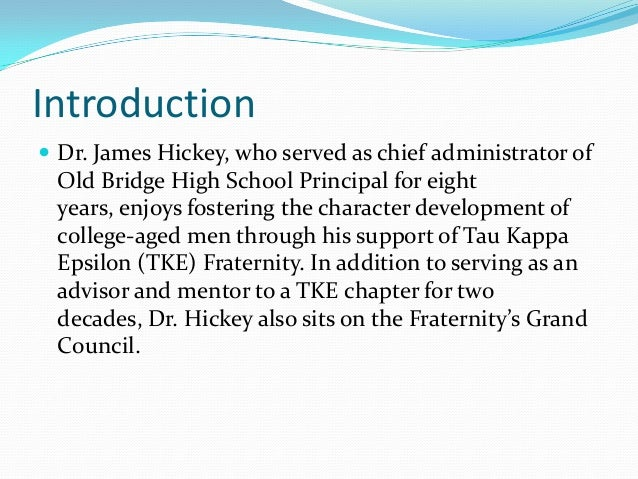 dr james hickey