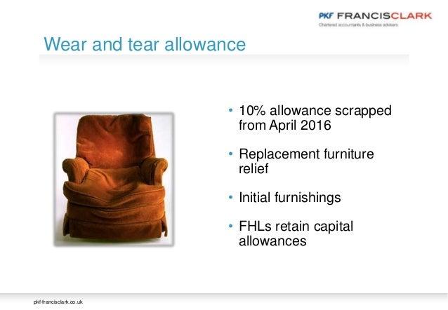 Wear And Tear Rental Property Allowance