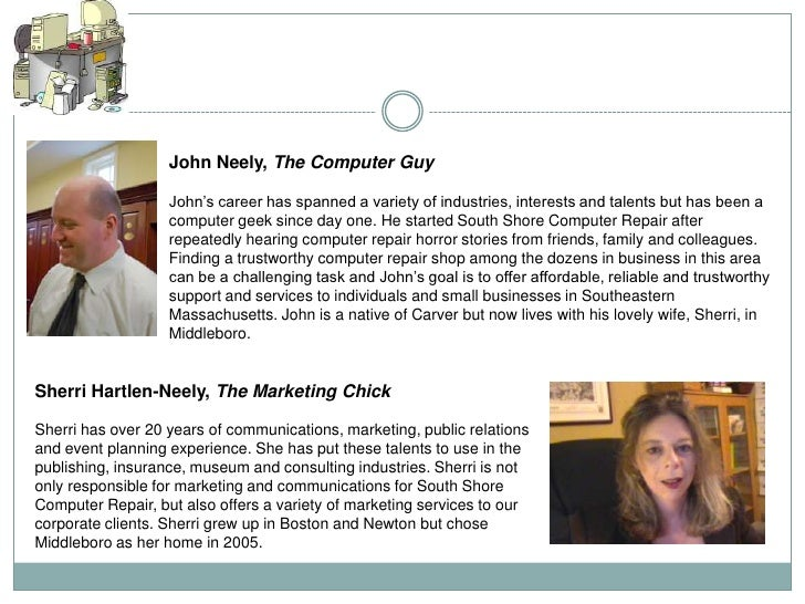 John Neely, The Computer Guy                   John's career has spanned a variety of industries, interests and talents bu...