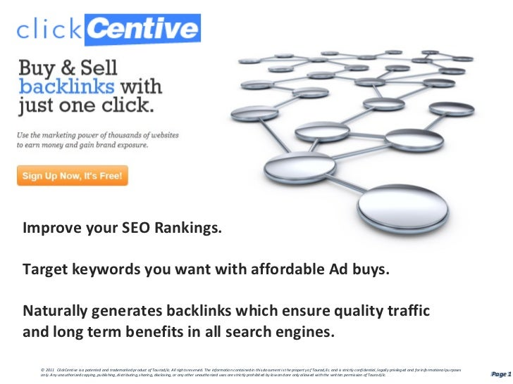 Improve your SEO Rankings.Target keywords you want with affordable Ad buys.Naturally generates backlinks which ensure qual...