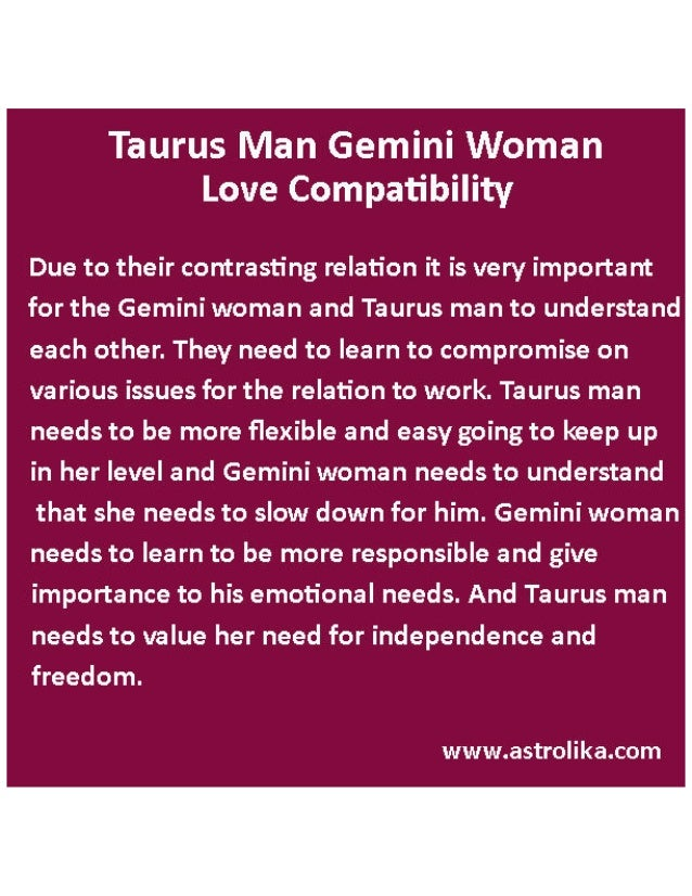 Summary of Taurus compatibility
