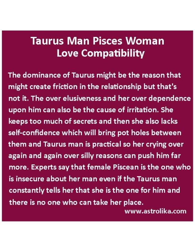 about taurus horoscope man