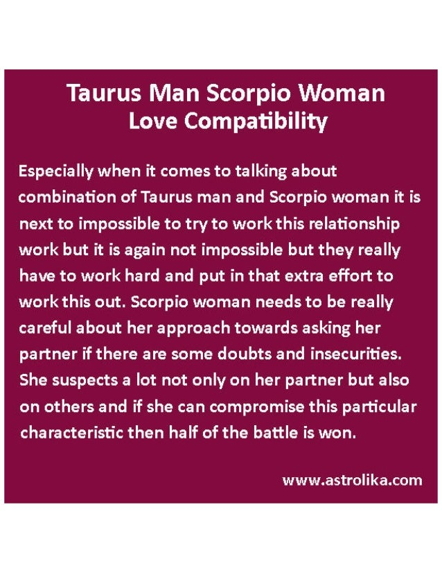 horoscope love matches for scorpio woman