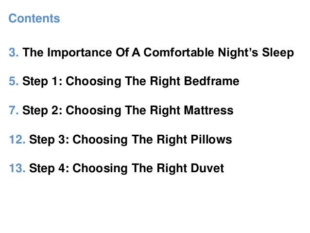 Taurus Bed\'s Guide To Choosing A Comfortable Bed