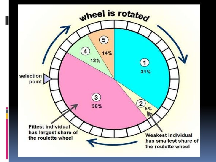 Roulette-wheel-selection impulse gambling