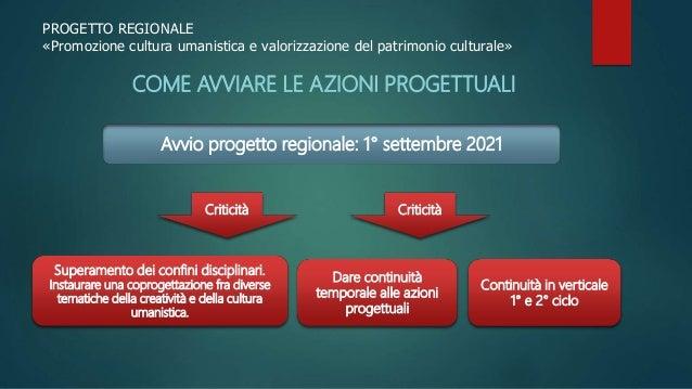 piano arti conferenza servizio presentazione progetto Slide 3