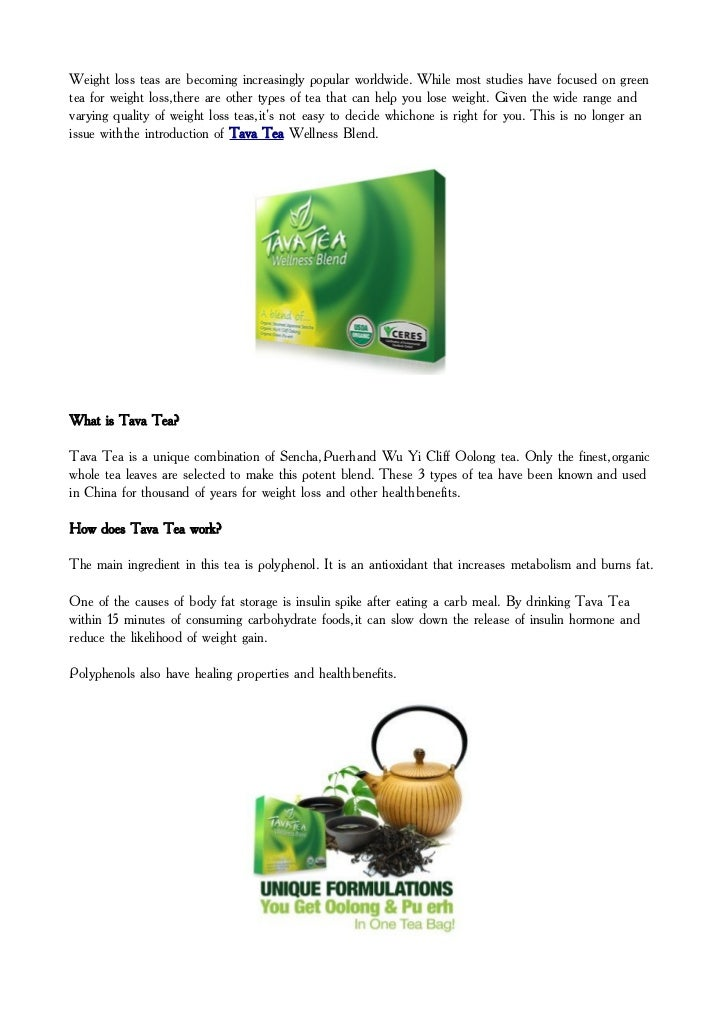 Weight loss teas are becoming increasingly popular worldwide. While most studies have focused on greentea for weight loss,...