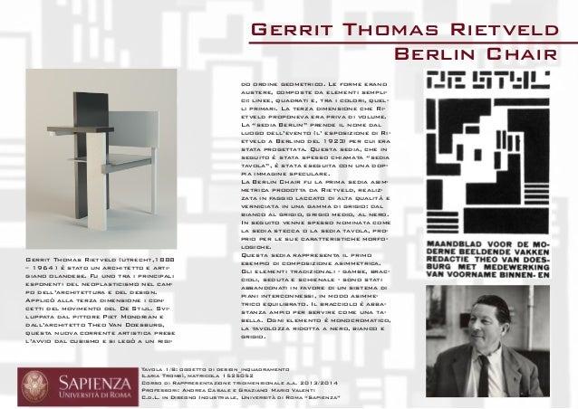 Tavola 1/8: oggetto di design_inquadramento  Ilaria Trombì, matricola 1525052  Corso di Rappresentazione tridimensionale a...