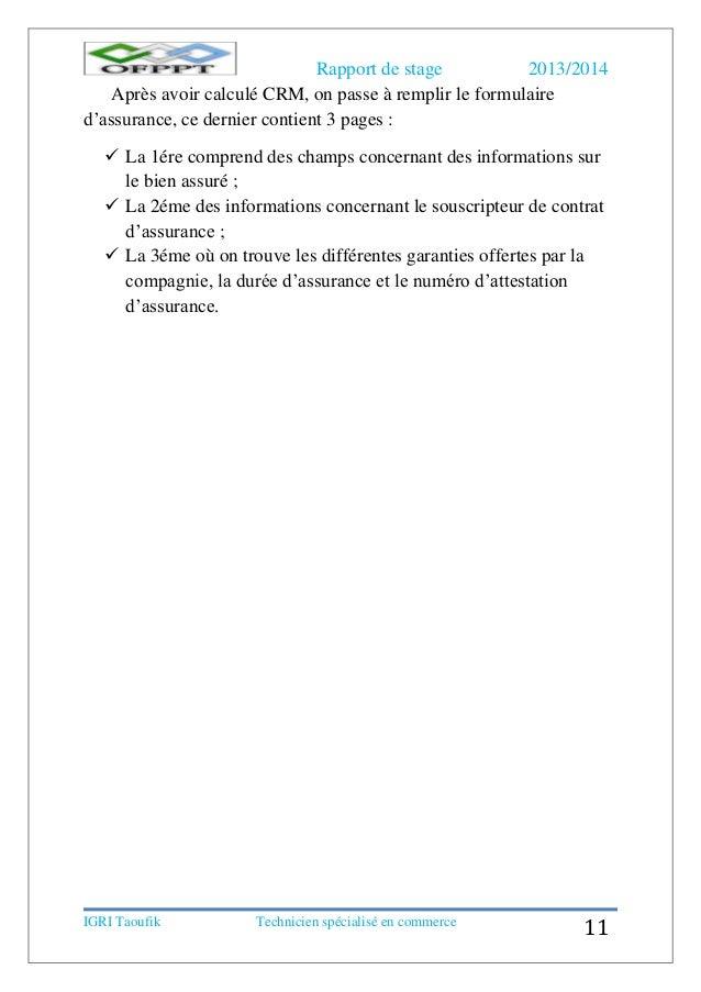 rapport de stage assurance ascoba. Black Bedroom Furniture Sets. Home Design Ideas