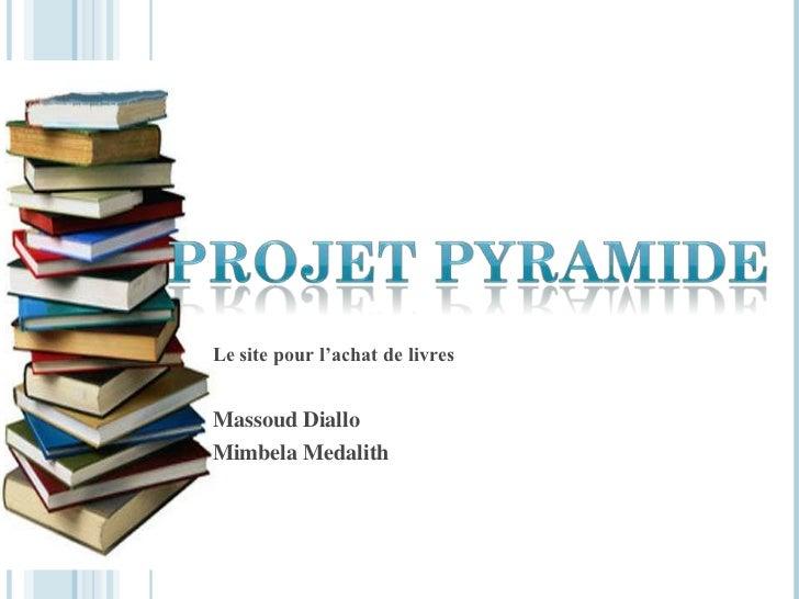 Le site pour l'achat de livresMassoud DialloMimbela Medalith