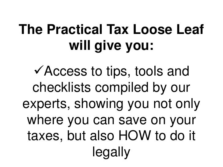 Practical Tax for your business
