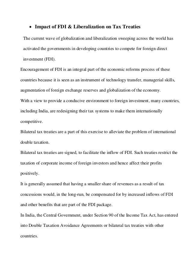 India And Australia Tax Treaty