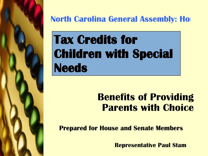 North Carolina General Assembly: House Bill 388: 2007-2008 Benefits of Providing Parents with Choice Prepared for House an...