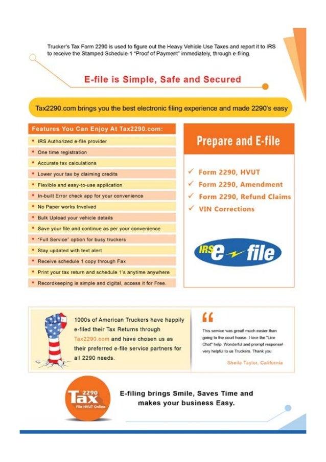 www.Tax2290.com - Digital Flyer Slide 2