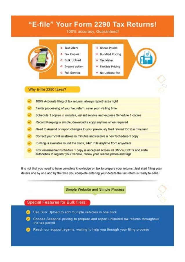 www.Tax2290.com - Digital Flyer Slide 3