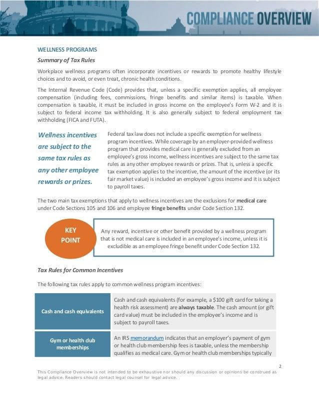 taxability of wellness plan rewards