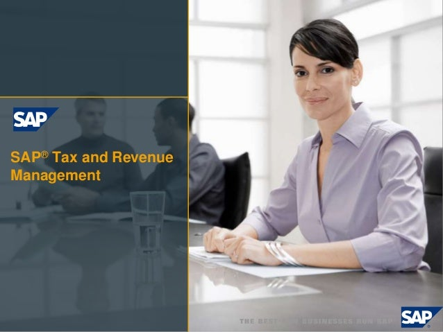 SAP® Tax and Revenue Management