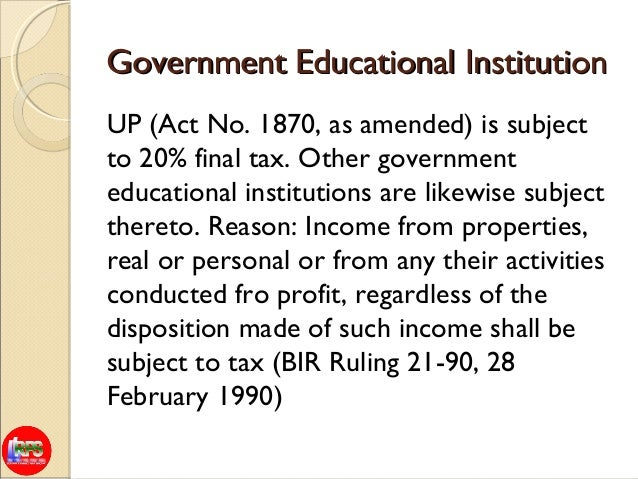 Tax aspect for educational intitutions(june 26, 2013)