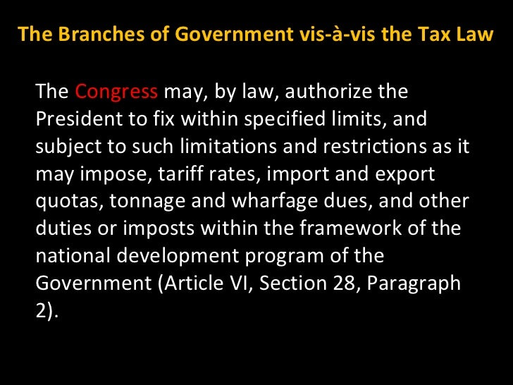 The  Congress  may, by law, authorize the President to fix within specified limits, and subject to such limitations and re...
