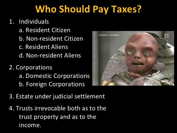 <ul><li>Individuals </li></ul><ul><li>a. Resident Citizen </li></ul><ul><li>b. Non-resident Citizen </li></ul><ul><li>c. R...