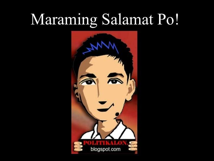 Maraming Salamat Po!