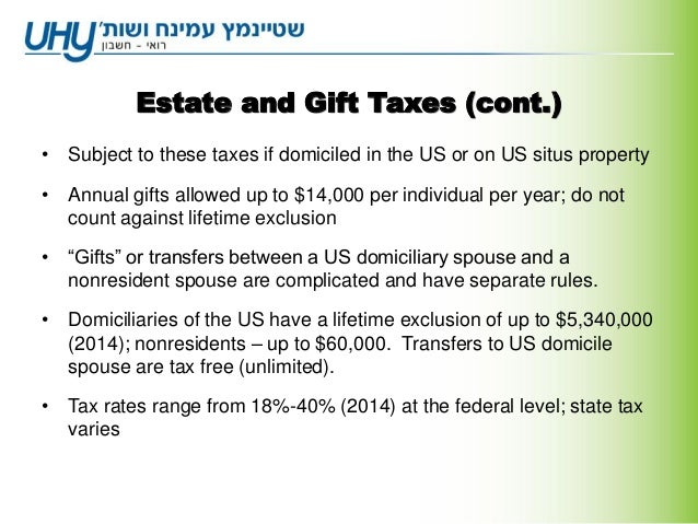Taxation in the us