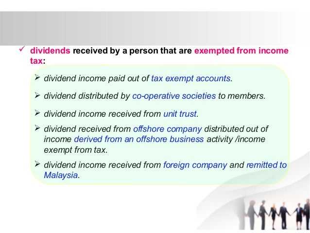 Taxation principles: Dividend, Interest, Rental, Royalty and