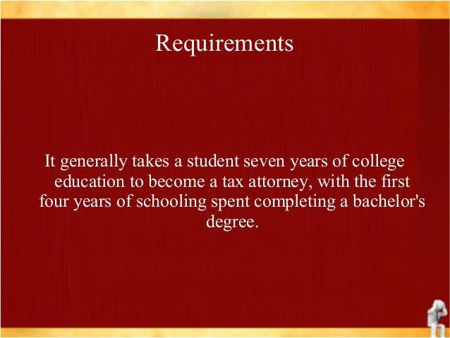 Tax attorney- job description, duties and requirements