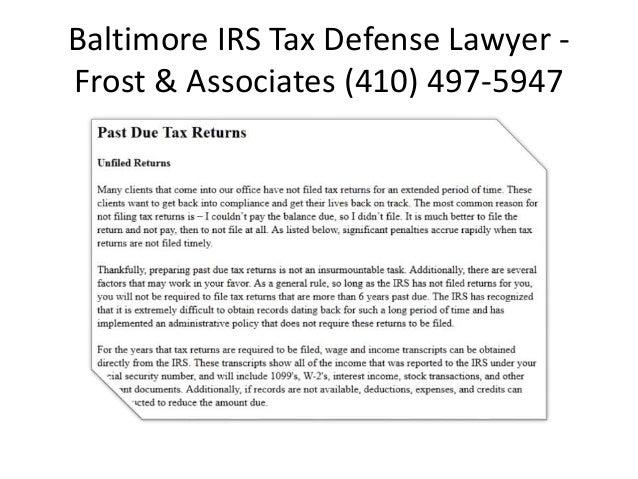 Tax Attorney Rockville MD
