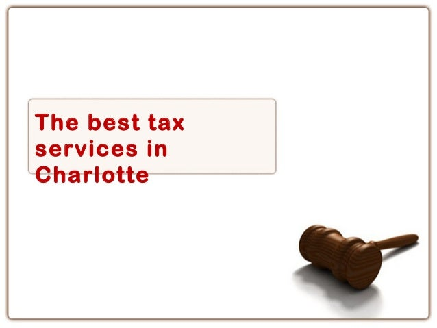 The best taxservices inCharlotte
