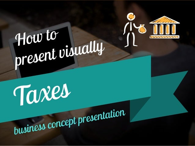How to quickly represent a tax concept in your document?