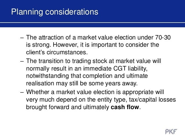 Tax implications of cashing in stock options