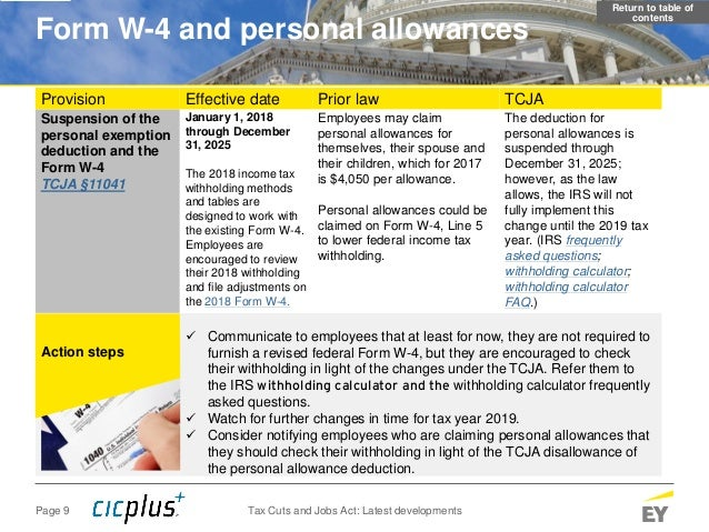 Tax Cuts And Jobs Act Latest Employer Developments As Of 3 21 2018