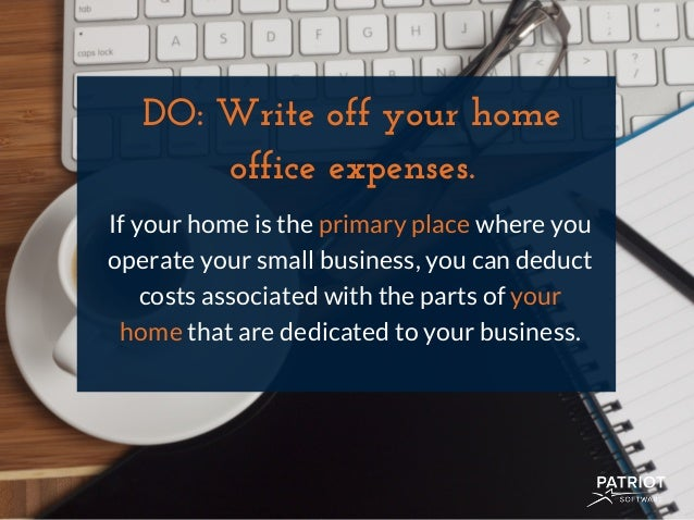 The Do's & Don'ts of Small Business Tax Deductions