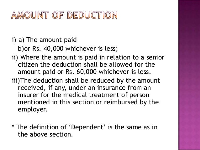 """A""""s gross total income is Rs. 1,80,000.Deductions allowed u/s 80D and 80C areRs. 9,000 and Rs. 12,000 respectively. Hepays..."""
