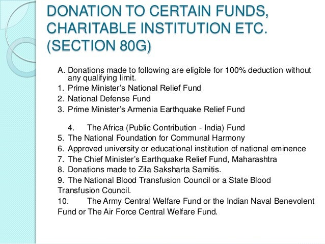 SECTION 80GGC – DONATIONTO POLITICAL PARTIES