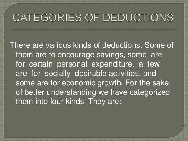 For certain personalexpenditure