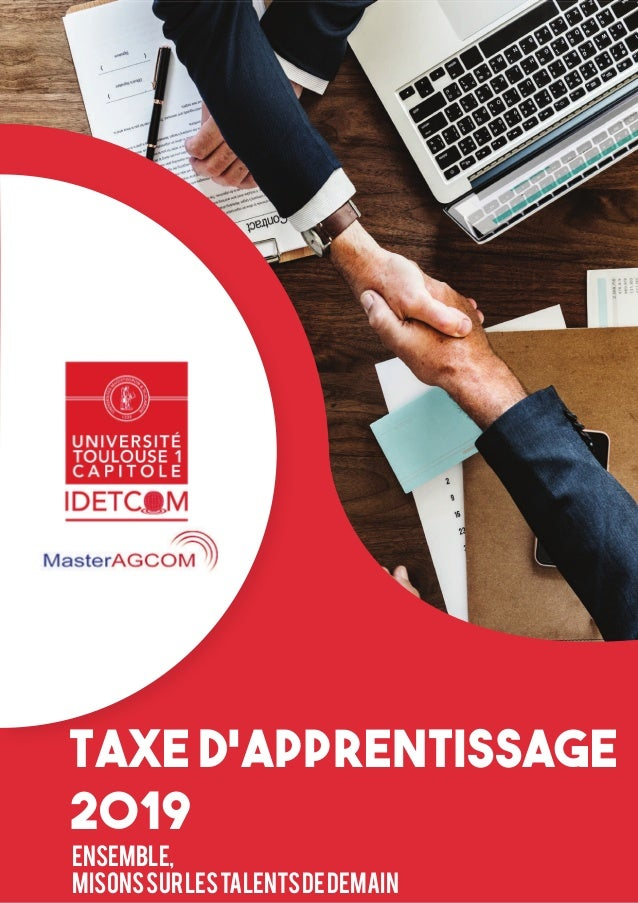 Taxe d'apprentissage 2019 Ensemble, misonssurlestalentsdedemain