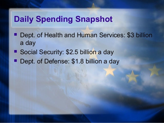 what should the government spend less money on