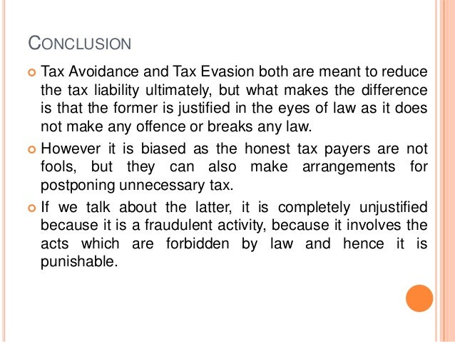 the effects of tax avoidance According to bassey (1998:13), it is true that tax had existed in the world before christ was born, during his adulthood he saw the need to support roman.